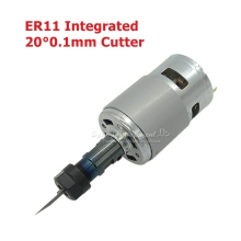 775 DC Motor 10000rpm 1610/ 2417/ 3018 CNC DIY Engraving Machine 120W Spindle with ER11 Extension Rod For Engraver Milling Tools