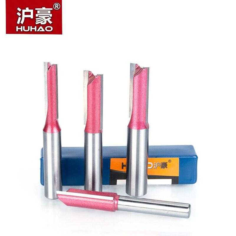HUHAO 1 stücke Fräser für Holz 6mm 8mm 10mm 12mm Industriequalität nutfräser werkzeuge schaftfräser fräser
