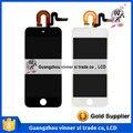 Para iPod Touch 5th Gen Substituição Da Tela LCD Digitador Assembléia Vidro branco Preto + ferramentas Frete Grátis