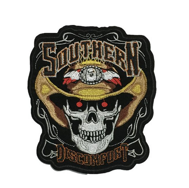Embroidered Southern Discomfort patches Iron on Ponk