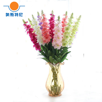 5pcs artificial hyacinth flower bouquets& artificial Hyacinthus orientalis bouquets image
