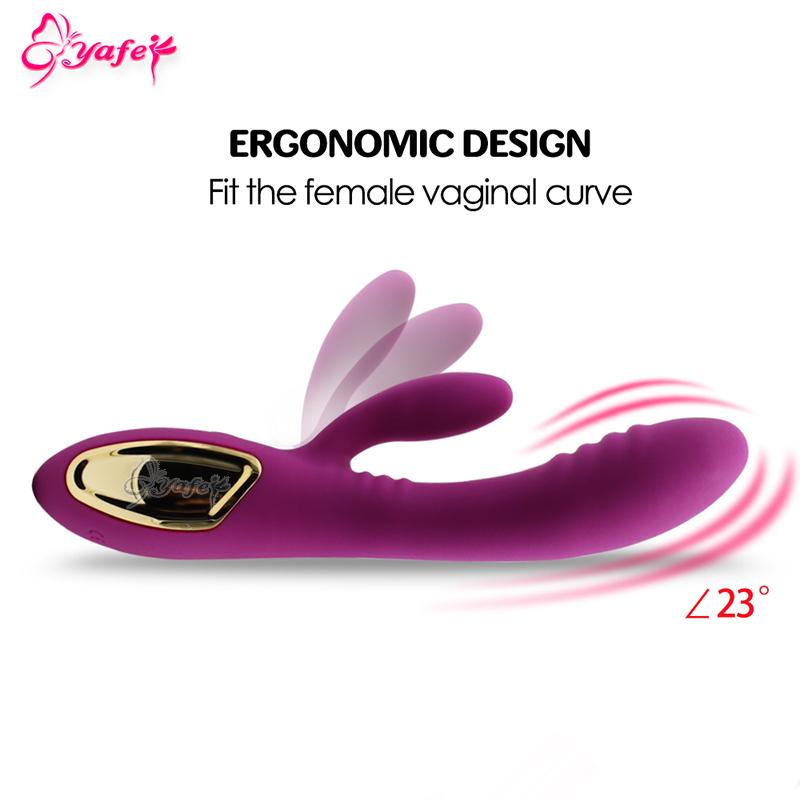 YAFEI 10 Speed Flexible Rabbit Vibrator Soft G spot Vbrator dildo Female Masturbation Massager Sex Machine Sex toys for Women 15