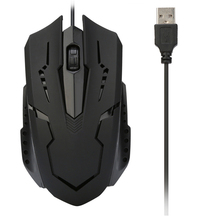 1200 DPI USB Wired Optical Gaming Game Mice Mouse For PC Laptop Computer Cute Futural Digital Drop Shipping