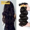 Brazilian Body Wave 4 Bundles Ms Lula Virgin Hair 8A Grade Real Brazilian Hair Bundles Stema Hair Brazilian Body Wave 4 Bundles
