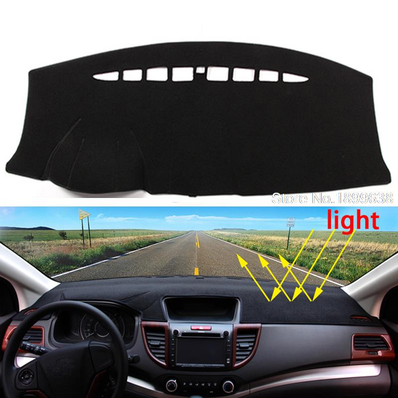 Car dashboard Avoid light pad Instrument platform desk cover Mats Carpets Auto accessories for Ford edge  2011 - 2016 dashboard cover