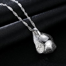 Shell Pearl Necklace 925 Silver