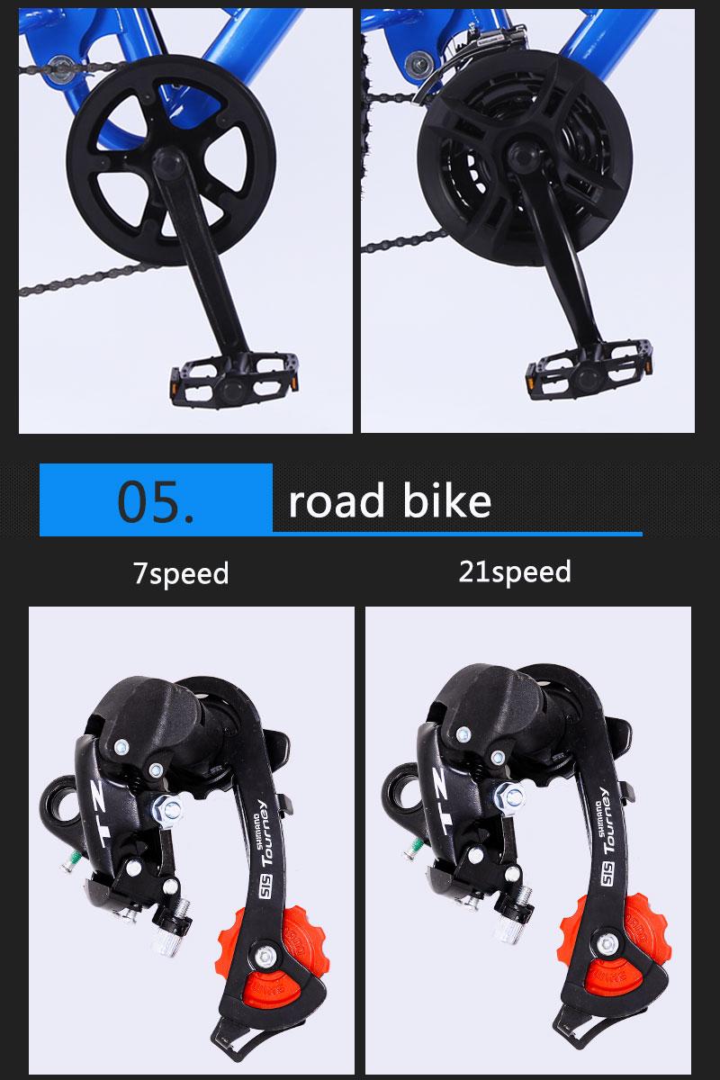 HTB1t.pJSrvpK1RjSZFqq6AXUVXau wolf's fang mountain bike 7/21/24 speed bicycle 26x4.0 fat bike Spring Fork snow bikes road bike Man Mechanical Disc Brake