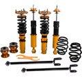 Набор амортизаторов подвески Coilover для BMW E46 3 серии 328 320 M3 323Ci 328i 328Ci Регулируемая пружина демпфера