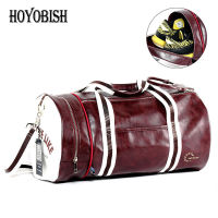 HOYOBISH 2018 Luxury Leather Men Large Travel Bags European Style Men Hand Luggage Waterproof Duffle Bags For Women OH306