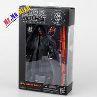 Star Wars The Black Series Darth Maul Action Pvc Figure Da Collezione Toy Model 16 Cm