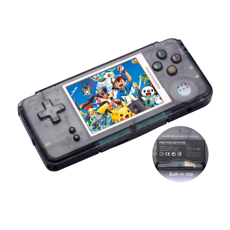 Nostalgia Retro Handheld Game Console 3.0 Inch Console Built-in 1151 Different Games Support For NEOGEO/GBC/FC/CP1/CP2/GB/GBA sanwa button and joystick use in video game console with multi games 520 in 1