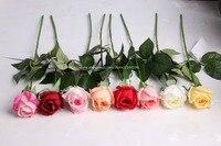 Rosas artificiales, la boda y la decoración del hogar, centros de mesa, blanco rojo amarillo rosa champán
