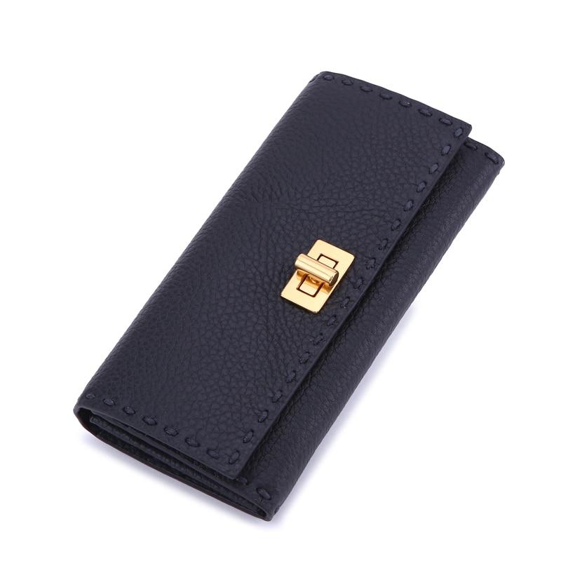 Shengbaoli Women s Wallets Women Cowhide Leather Wallet Luxury Design Ladies Party Clutch Patent Leather Purses