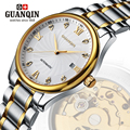 Brand GUNQIN Men's watch self-winding mechanical watches men dress luxury Sapphire surface relogio masculino GQ80006