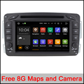 "Quad Core 7 "" Android 5.1 Car DVD Player for Benz W203 W209 Viano Car Stereo Headunit GPS Radio Canbus build-in WIFI support DVR"