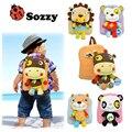 1 pcs SOZZY baby kid mochila no ombro saco pacote de lanche para as crianças 2-5 anos de idade Mochilas De Pelúcia
