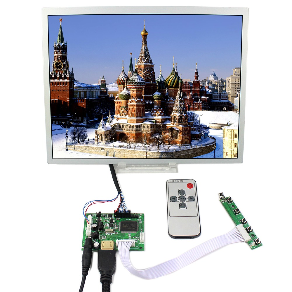 HDMI+LCD Controller Board With 12.1inch 800x600 LQ121S1LG75 LCD Screen