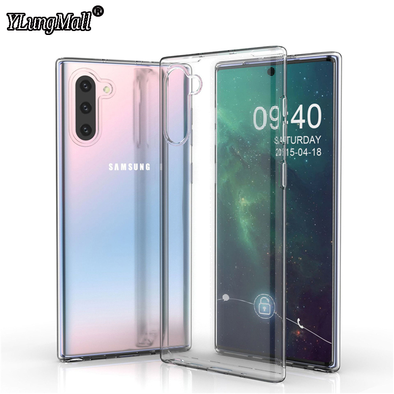 Transparent Case For Samsung Galaxy Note 10 Pro 9 8 S10 S8 S9 Plus S10e A50 A70 A40 A30 A20 A10 A60 A80 M20 A7 2018 Cases Cover Huawei P30 lite