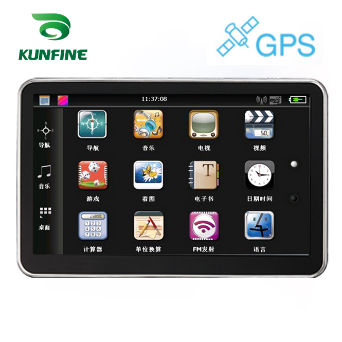 5 Inch Wince 6.0 Car GPS Navigation Radio 8GB 256M Truck Vehicle GPS Navigators Lorry Rear View Camera Screen Free Map Upgrade 7 inch car gps navigation capacitive screen fm built in 8gb 256m wince 6 0 map for europe usa canada truck vehicle gps navigator
