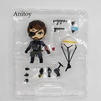 Metal Gear Solid V A Dor Fantasma Nendoroid 565 Veneno de Cobra Serpente Sneaking Suit Ver. PVC Action Figure Toy 10cmKT3442