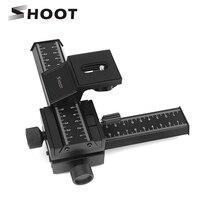 SHOOT 4 Way Macro Focusing Rail Slider For Canon Nikon Samsung Sony Digital SLR Digital Camera