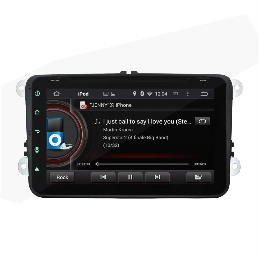 Fit for Skoda Octavia II FABIA SUPERB Octavia III 2 3 full touch 8 android 7.1.1 HD 1024*600 car dvd player gps radio 3G wifi