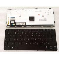 YALUZU Novo teclado do portátil DOS EUA PARA O HP EliteBook 820 G1 820 G2 720 G1 720 G2 725 G2 backlight|Teclado de substituição| |  -