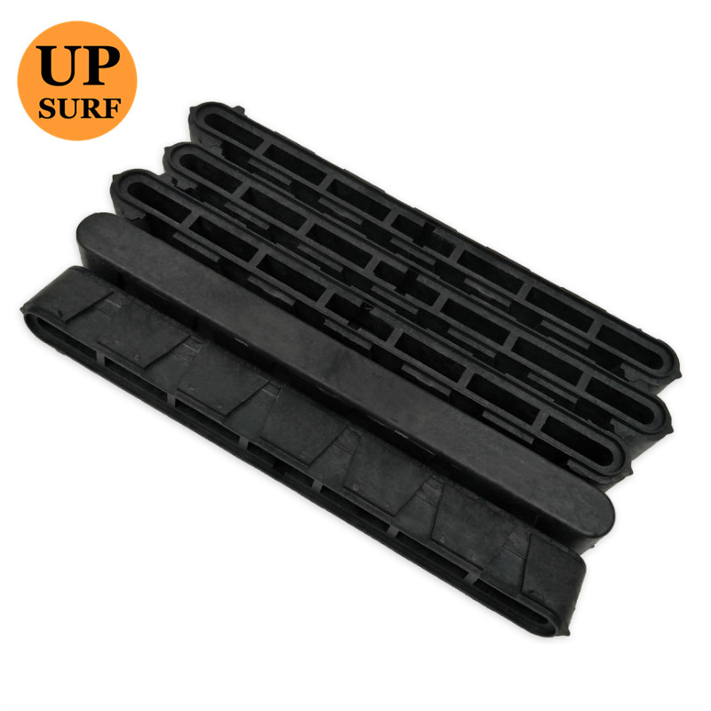 Купить с кэшбэком Surfboard Fin Box Black  10'Length Plastic FCS Centre Longboard Fins Box High Quality