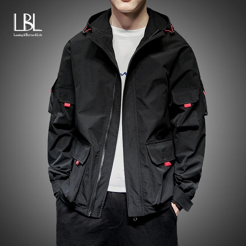 Fashion Men Pilot Jacket Casual Solid Mens Bomber Jacket Boy Hip Hop Patch Designs Slim Fit Male Coat Man Jackets Plus Size 3XL