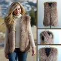 Ladies New Fashion Fur Vest Fur Coat Trimming Tassels Women Fur Natural Waistcoat Lady Gilet S M L XL #2