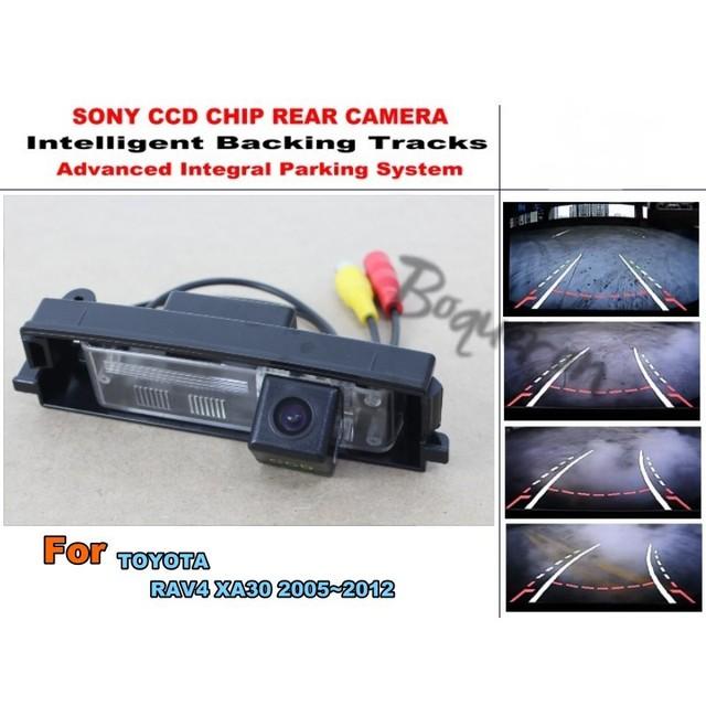 Carro de Estacionamento Inteligente Faixas Câmera/HD de Volta até Câmera Reversa/Câmera de Visão traseira Para TOYOTA Vanguarda Para TOYOTA RAV4 RAV-4