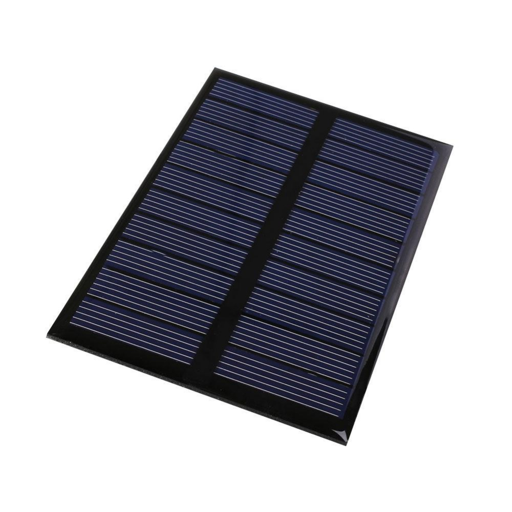 Al aire libre 5 V 1.2 W 240mA Panel Solar DIY Célula Sunpower Células Del Sistem