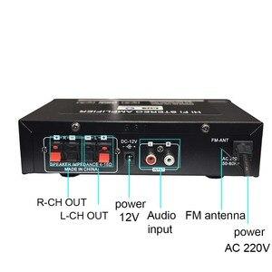 Image 3 - Lusya 12V רכב מגבר 2.0 ערוץ אודיו דיגיטלי Bluetooth מגברי 45W + 45W תמיכת FM TF כרטיס U דיסק מרחוק רכב בית H3 002