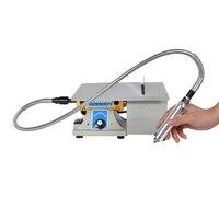 1 pçs multifuncional mini máquina torno de bancada moedor elétrico/polidor/broca/serra ferramenta 350w 10000 r/min