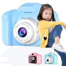 Mini X2 HD digital camera 2 inch cute cartoon Camera toys children birthday gift 800w child