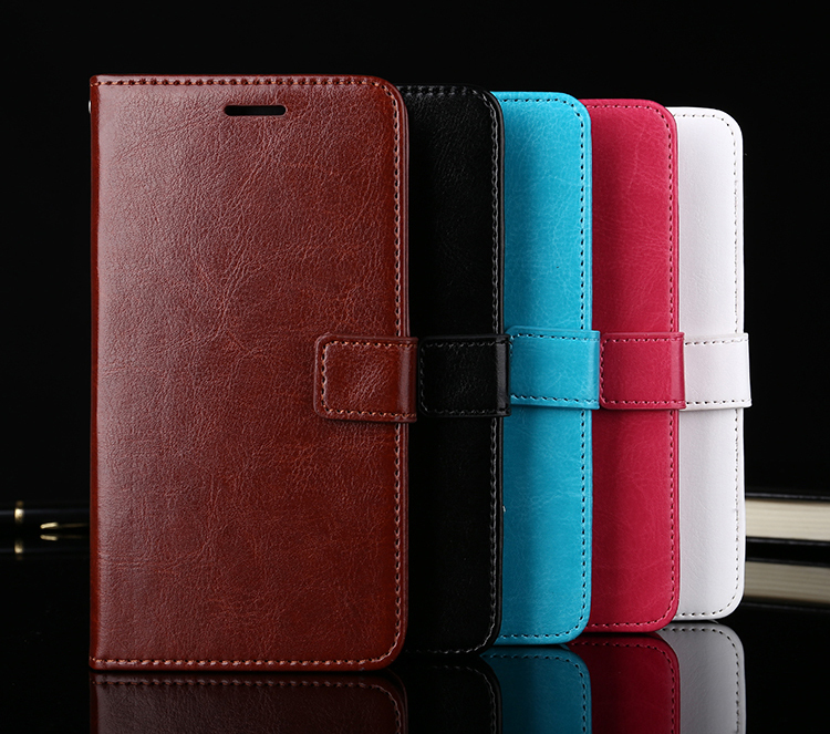 For Meizu M8 Case Flip Case Premium PU Leather Wallet Case Fundas For Meizu M8  Lite