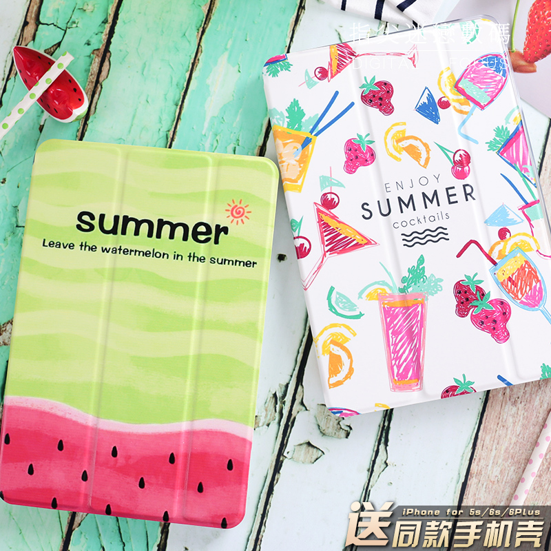 Summer Style Cool Flip Cover For iPad Pro 9.7 Air Air2 Mini 1 2 3 4 Tablet Case Protective Shell for lovers + gift for new ipad 9 7 2017 visual acuity chart flip cover for ipad pro 9 7 10 5 air air2 mini 1 2 3 4 tablet case protective shell