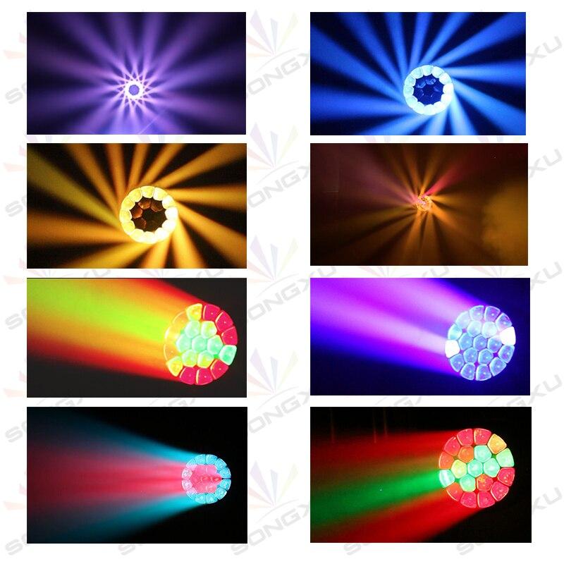 Image 5 - Чехол для полёта 2в1 19x15 Вт RGBW 4в1 глаза пчел большие глаза движущаяся голова свет с зумом вращающийся Mac Aura сценический свет/SX MH1915Эффект освещения сцены    АлиЭкспресс