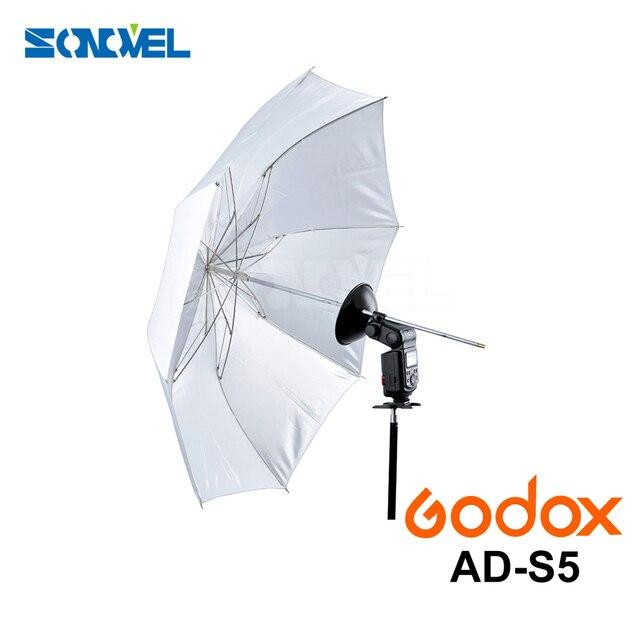 """Godox 37"""" / 94cm White Folded Diffuser Soft Umbrella AD-S5 for Godox Witstro AD200 AD180 AD360 AD360II Flash Speedlite"""