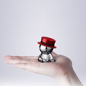 Novel Car Crafts Phone Holder Hat-men Mobile Phone Stand Multi-functional Creative Mobile Accessory DJ003 5
