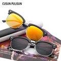Clásicos Hombres de las mujeres gafas de sol de marca UV400 Espejo Sol de La Señora gafas de Rayos Hombre Mujer logo Pequeño Tamaño Caliente Medio Marco rosa