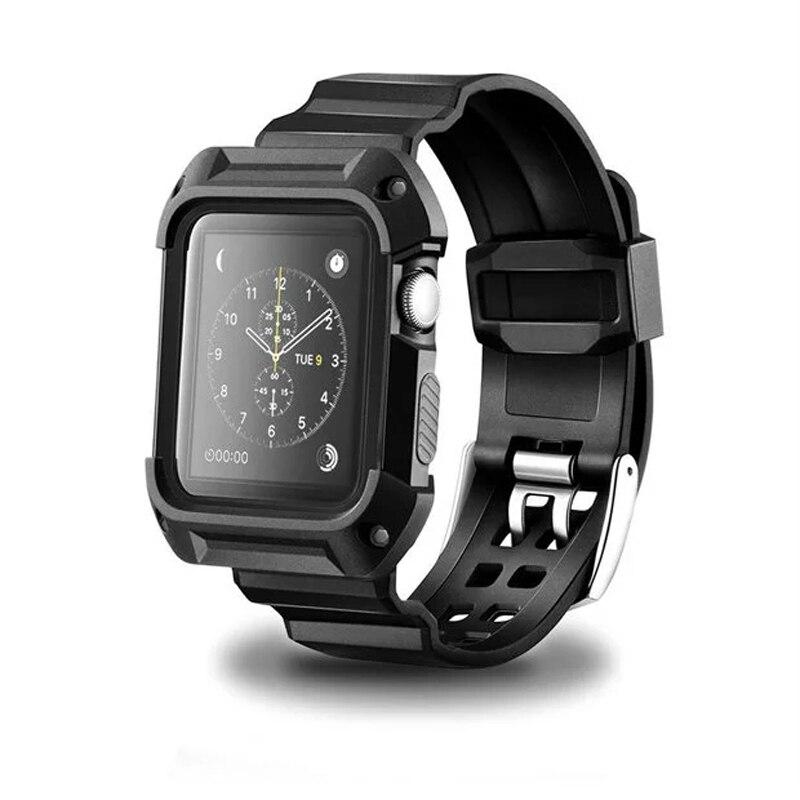 Bracelet Apple Watch série 3/2/1 avec Coque de Protection