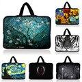 Hot 10.1 13.3 14 15.4 15.6 17.3 polegada de Neoprene Notebook Laptop Saco de Manga Tablet Caso Carry Bag Para HP DELL ACER SAMSUNG Macbook