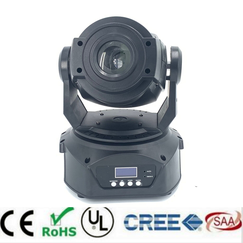 90W Gobo LED Moving Head Light 3 Face Prism DMX Controller 16 Channel for Stage Theater Disco Nightclub Party