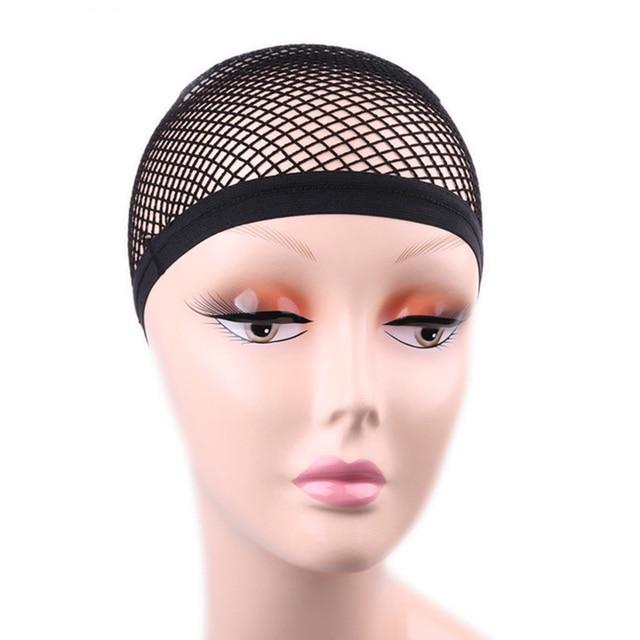 Elastic Strethable Wig Cap Mesh Weaving Black Wig Hair Net Making