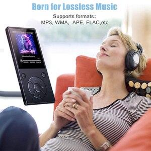 Image 2 - Bluetooth4.2 MP3 מוסיקה נגן מובנה רמקול עם 2.4 אינץ TFT מסך Lossless קול נגן, תומך SD כרטיס עד 128GB