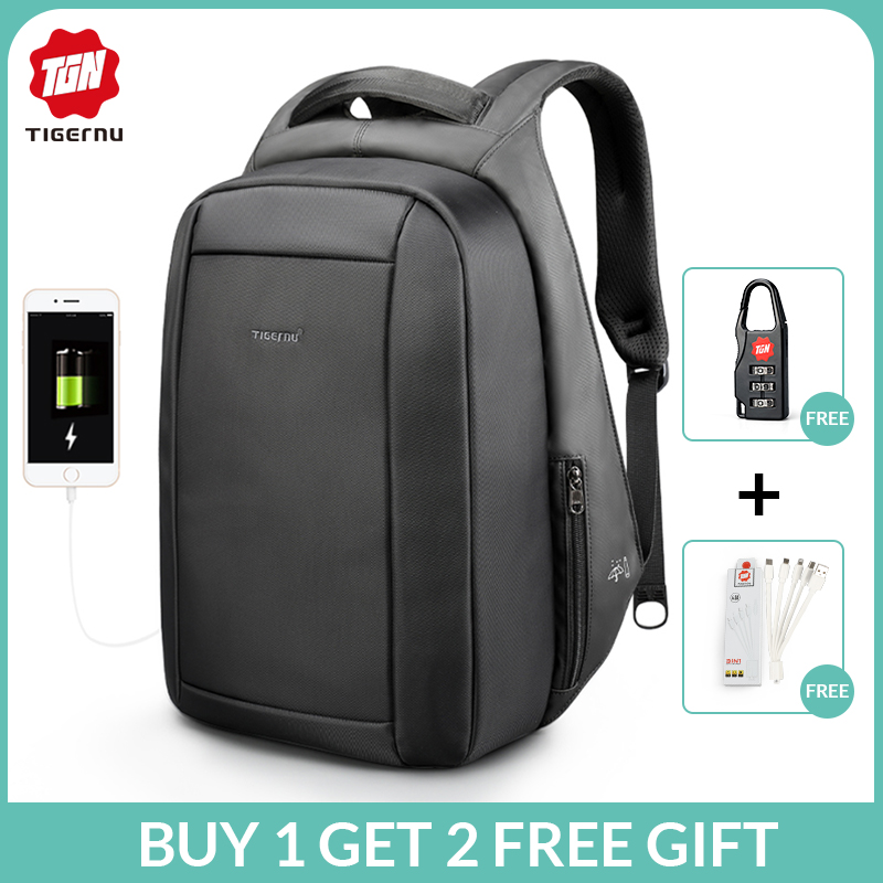 tigernu-waterproof-anti-theft-male-mochila-156inch-laptop-backpack-men-usb-backpacks-school-bags-bagpack-for-teens-travel-bag