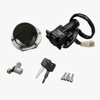 for Kawasaki NINJA 250R EX250 J 2008 2012 Ninja 300 EX300 2013 2015 Ignition Switch Fuel Gas Tank Cap Cover Seat Lock Key Set