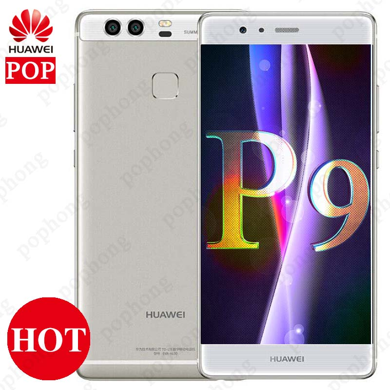 Global Firmware Huawei P9 3 4GB RAM 32 64GB ROM Kirin 955 Octa Core 5 2