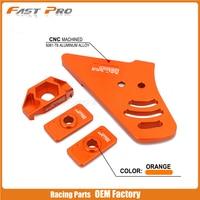 Motorcycle CNC Aluminum Guide Adjuster Chain For KTM SX50 SXS50 SX SXS 50 Junior MINI PRO SENIOR LC 04 05 06 07 08 09 10 11 18
